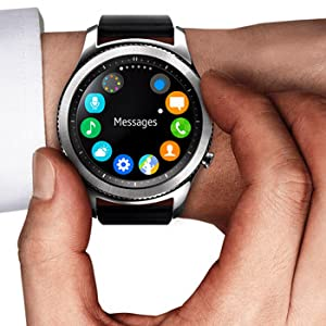 Samsung R760 Gear S3 Frontier Smart Watch - Space Grey