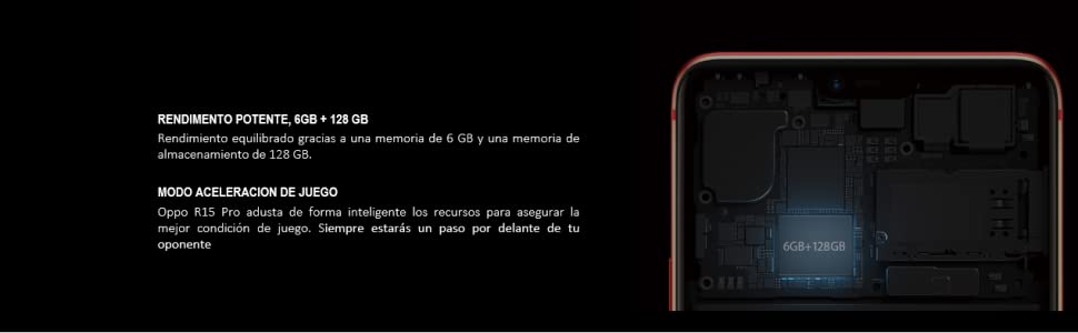 Oppo R15 Pro - Smartphone Dual SIM de 6.28