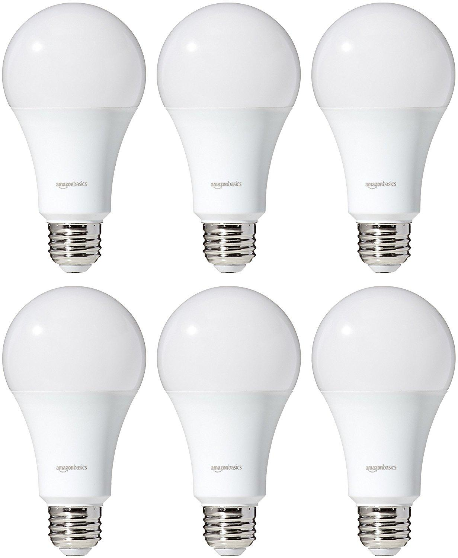 AmazonBasics Bombilla LED equivalente a 40 W, luz blanca ...