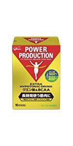 グリコ パワープロダクション エキストラ ハイポトニックドリンク クエン酸&BCAA グレープフルーツ味 1袋 (12.4g) 10本 】粉末ドリンク パウダー