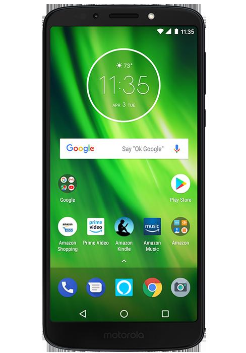 764b5f6ec Amazon.com  Moto G6 – 64 GB – Unlocked (AT T Sprint T-Mobile Verizon ...