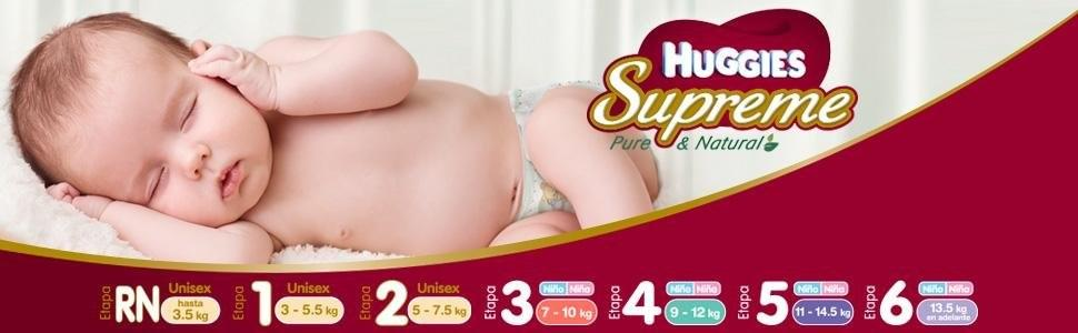Huggies; Huggies Supreme; Suprim; suprime; huggis suprime; el mejor pañal; mejor pañal; pañal suave