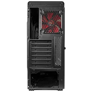 Mars Gaming MC6, caja PC Micro ATX, 2 ventiladores 12 cm, VGA ...