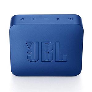 JBL GO 2 Portable Bluetooth Speaker, Blue - JBLGO2BLU