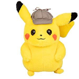 Amazon Com Pokemon Pokemon 97563 Detective Pikachu 8 Inch Plush