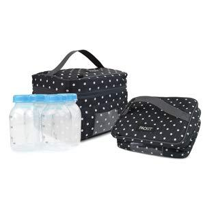 Packit Freezable Baby Bottle Cooler For Breastmilk And