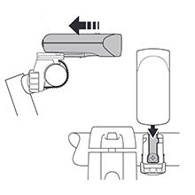 キャットアイ(CAT EYE) LEDヘッドライト HL-EL140 ブラック JIS前照灯規格適合品