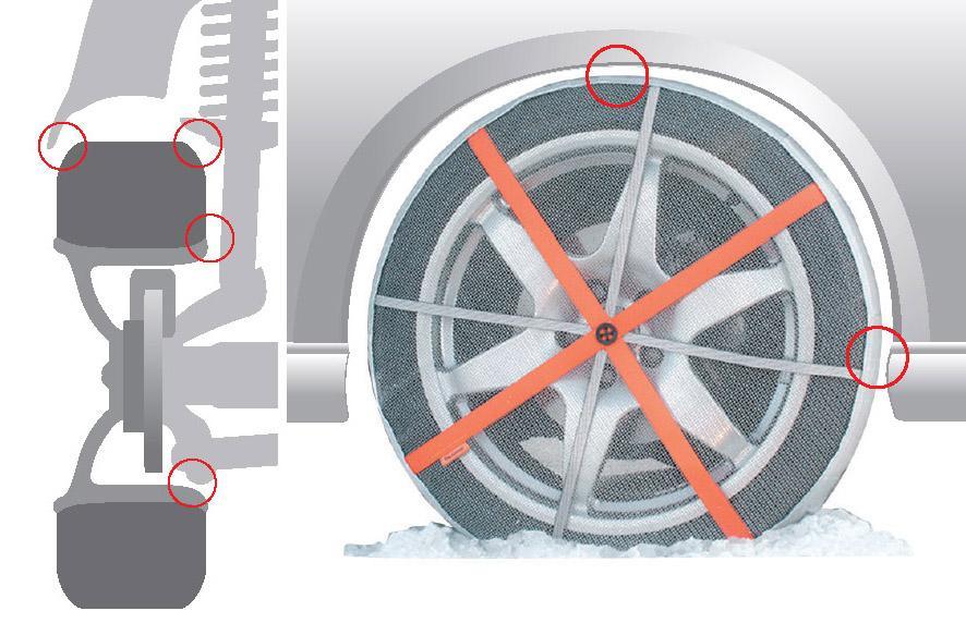 AutoSock HP - Cadenas textiles para nieve