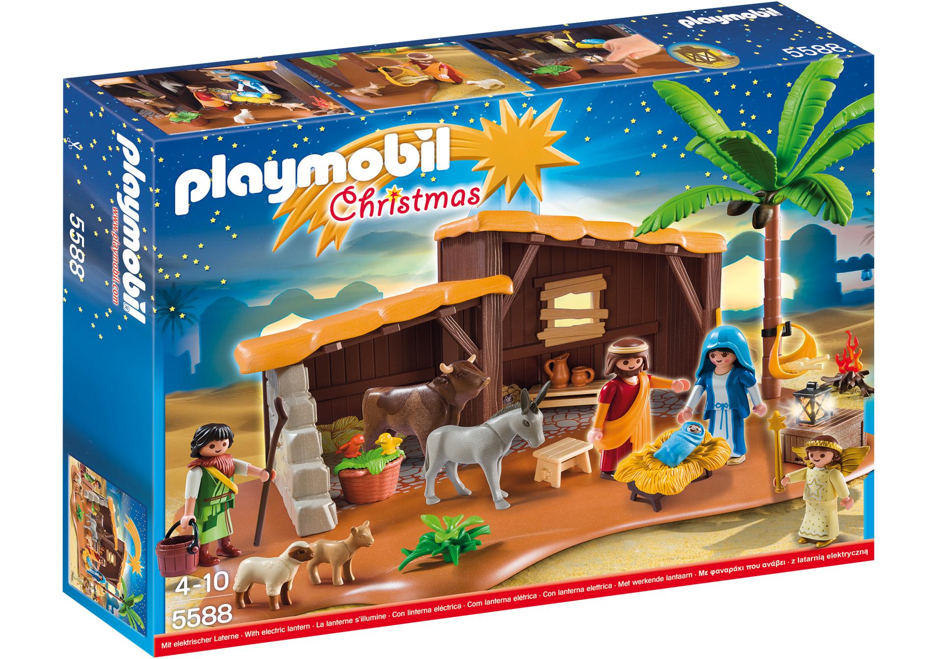 Playmobil navidad playset bel n 5588 for Amazon figuras belen