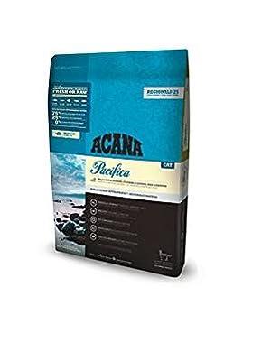 Acana Pacifica presenta una gran variedad de peces regionales capturados en hábitat natural por gente que conocemos y confiamos, considerados aptos para el ...