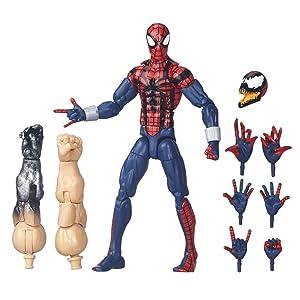 """Marvel Legends 6/"""" Pouces Vintage Rétro Classique Pizza Spiderman Loose complet"""