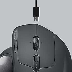 ロジクール ワイヤレスマウス トラックボール