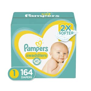Pampers Diapers Size 4 Super Pack 66 Count Swaddlers Disposable Baby Diapers
