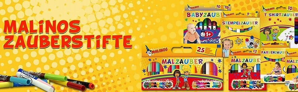Malzauber AB 1 Jahr MALINOS 300011 Buntstift