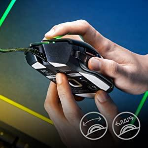 Gaming Mouse Cable Optical Sensor FPS Esport Chroma Lighting LED Right Handed USB Mechanical set