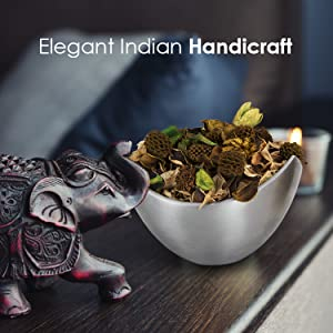 Elegant Handicraft India Hand made vintage antique modern slanted cut