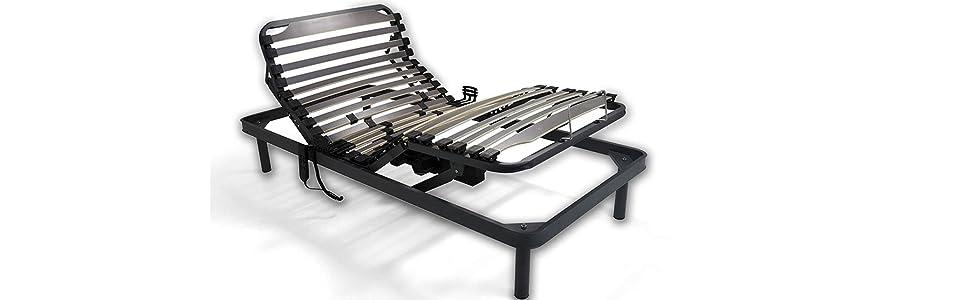 Duérmete Online Completa Colchón Artiflex HR para Cama Somier Eléctrico Articulado 5 Planos | Fabricado en ESPAÑA, Pack, 90x190