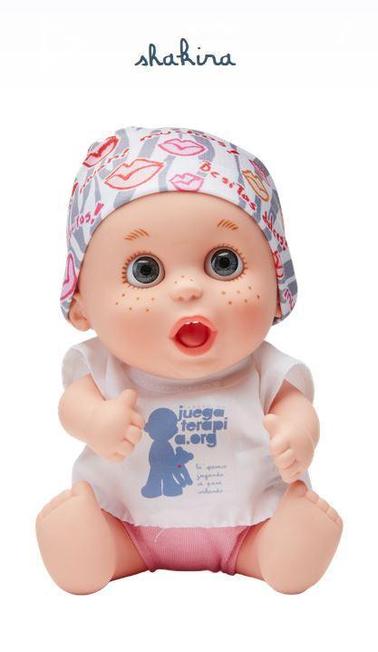 Amazon.es: Muñeco Baby Pelón Shakira - Juegaterapia