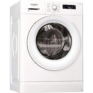 Whirlpool FWF71052W GCC Freestanding Front Loading Washing Machine, 7 Kg