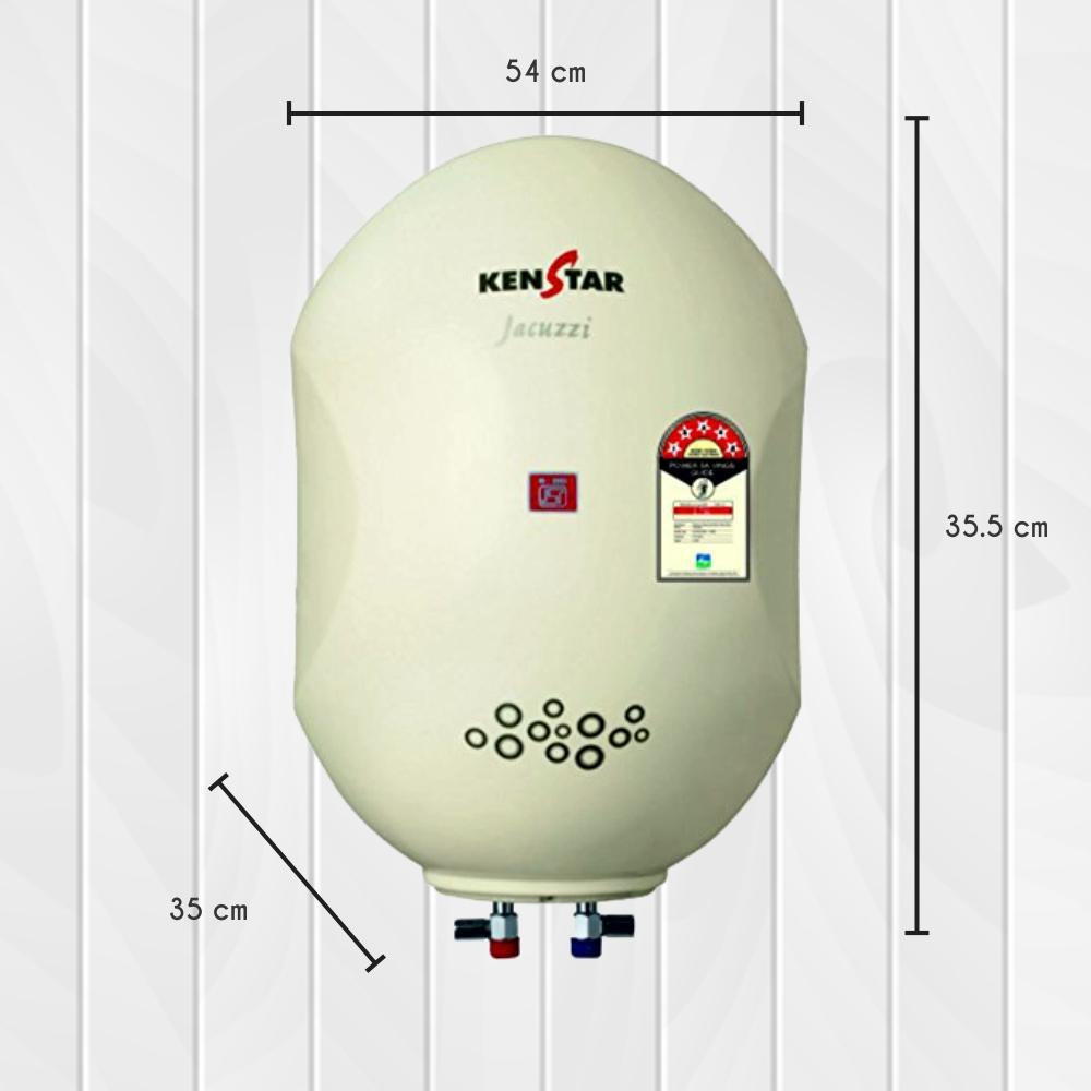 Buy Kenstar Jacuzzi Kgs25w5p 25 Litre Storage Water Heater Cream Washing Machine Wiring Diagram