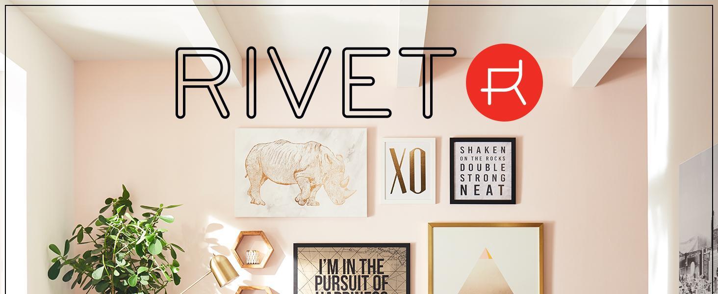 Rivet,home furnishings,small space,studio,apartment,metal,wall art,global,print,canvas,framed,city
