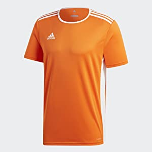 adidas Mens Soccer Entrada 18 Jersey, Power Red/White, X ...
