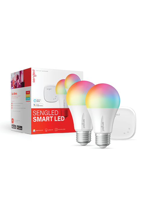 Smart LED Multicolor A19 Starter Kit