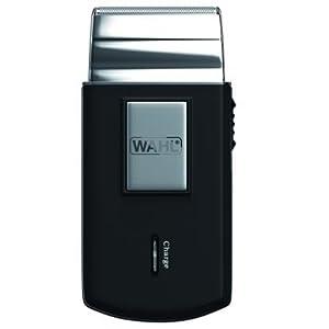 Wahl 03615-1016 - Máquina de afeitar de láminas, negro y plata ...