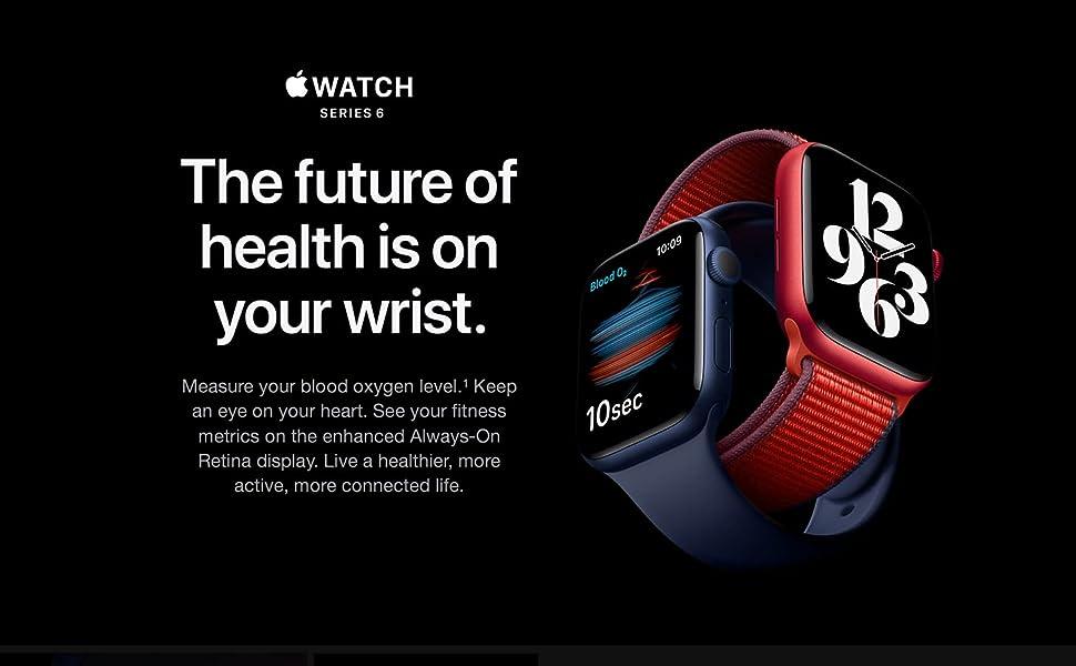 Apple Watch Series 6 (GPS) 44mm Space