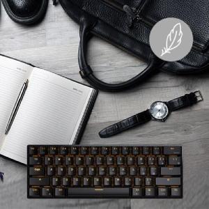 RK ROYAL KLUDGE RK61 wireless 60% Mechanical Gaming Keyboard RGB Backlit Ultra-Compact Keyboard for