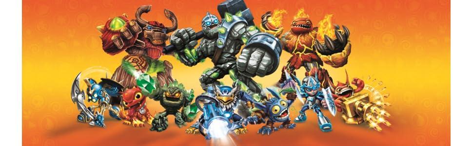 Skylanders: Giants - Pack Battle: Zap + Capapult + Hot Dog: Amazon.es: Videojuegos