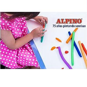 Alpino De juguetes a lápices de colores