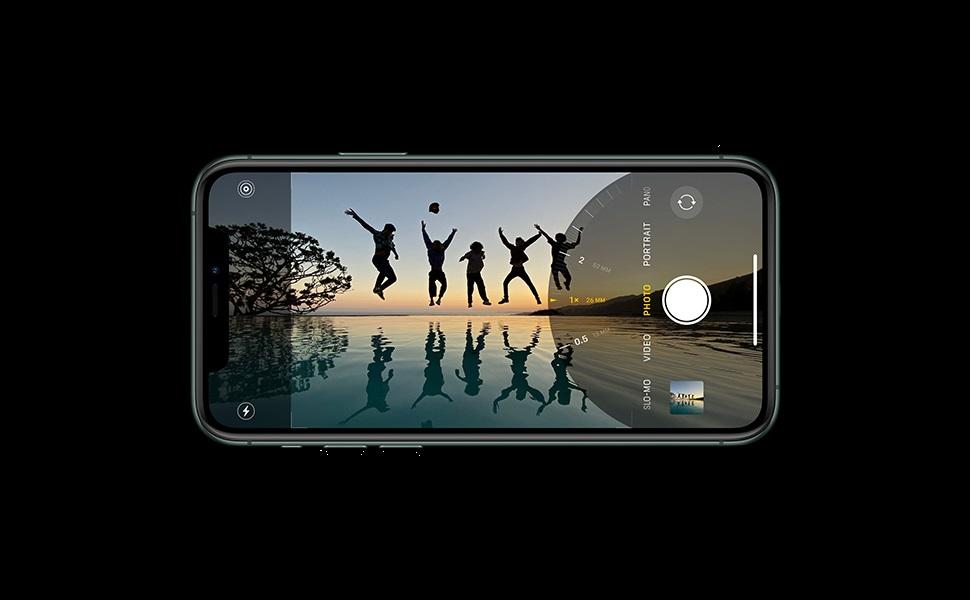 Apple iPhone 11 Pro with FaceTime - 64GB, 4GB RAM, 4G LTE, Gold, Single SIM & E-SIM