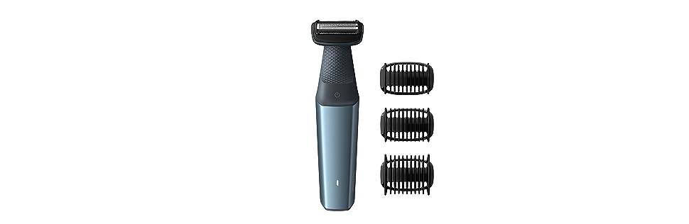 Afeitadora corporal Bodygroom Series 3000 de Philips, respetuoso con la piel BG3015/15: Amazon.es: Salud y cuidado personal