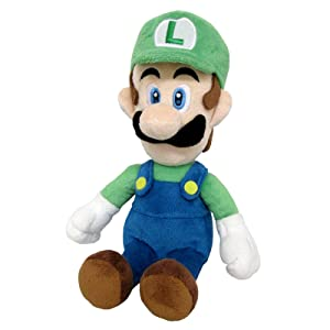 1414 Mario /& 1415 Luigi Little Buddy Set of 2 Super Mario All Star Collection Plush