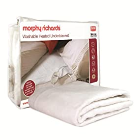 Morphy Richards 75184 All Night Heated Underblanket