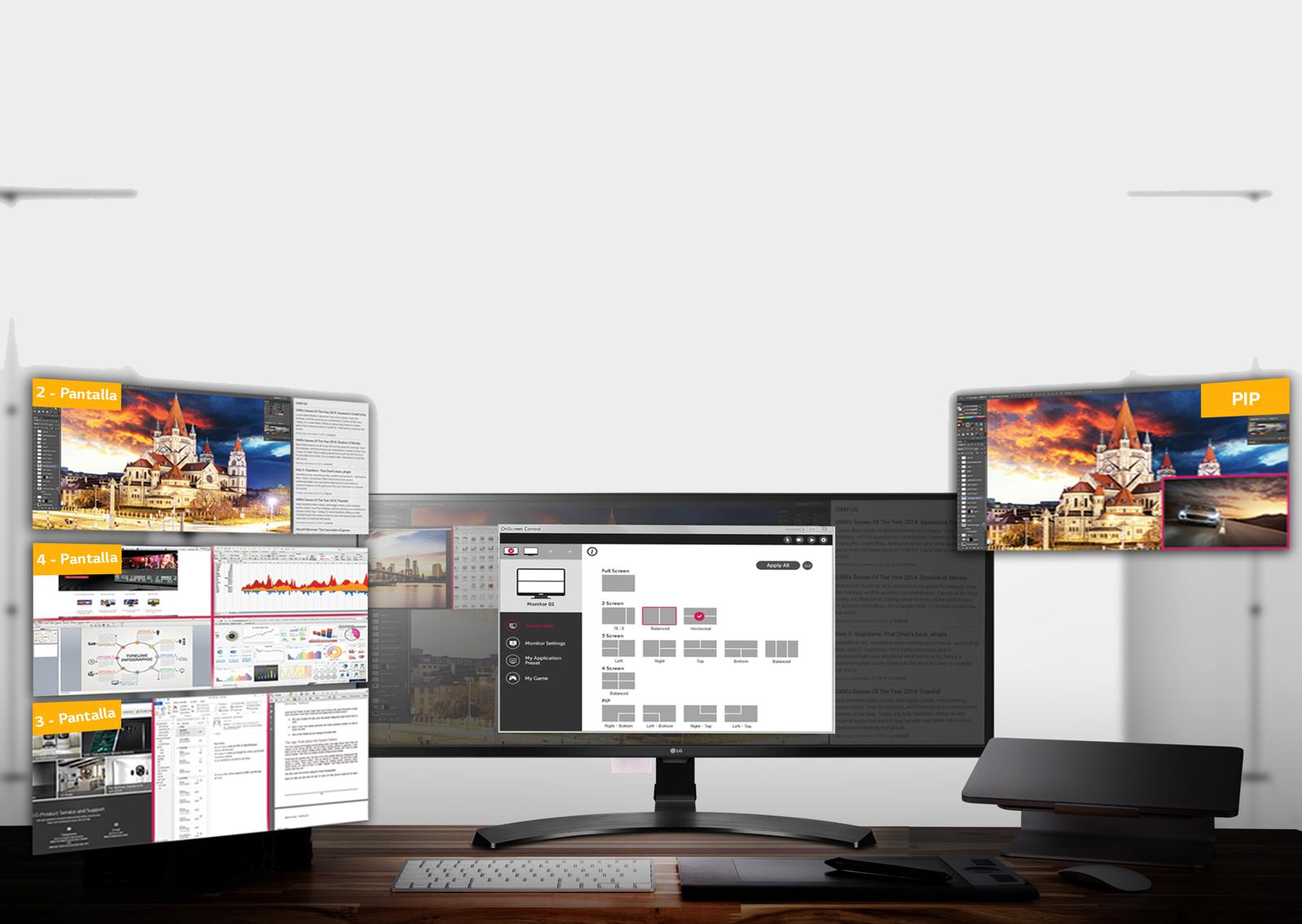 LG 29UM59A-P - Monitor Profesional UltraWide FHD de 73,7