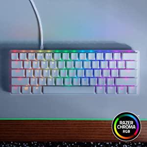 Razer Huntsman Mini Gaming Keyboard: Fastest Keyboard Switches Ever, Purple