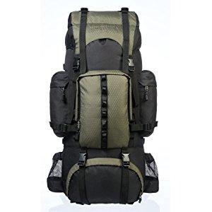 a6bd1cddf4 AmazonBasics - Zaino da escursionismo con telaio interno e cerniera ...