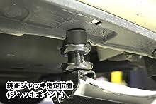 メルテック ローダウンフロアージャッキ(2t) ローダウン対応 油圧式 F-70