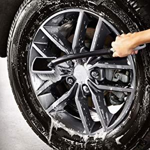 AmazonBasics Long Handled Wheel Brush