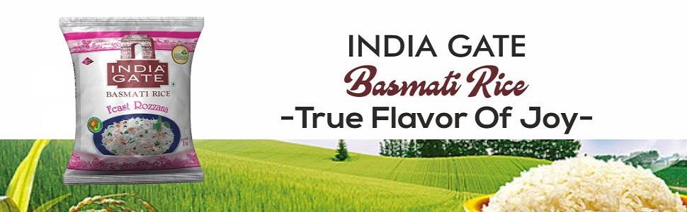 India Gate Basmati Rice Pouch