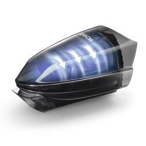 Bosch BHN20110 Aspirador de mano, batería de 204 V, color negro y acero: Amazon.es: Hogar
