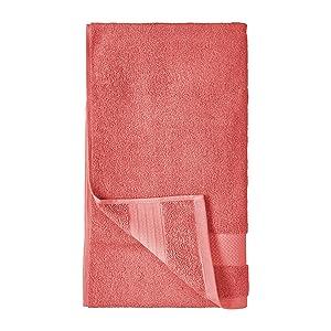 misura 73,7 x 33 cm CORAFRITZ altamente assorbente Asciugamano da bagno in morbido tinta unita