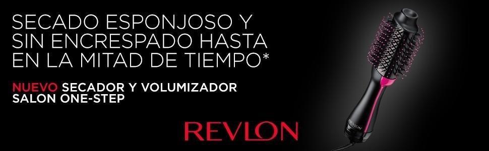 Revlon Pro Collection Salon One-Step - Secador y volumizador de pelo (3 posiciones de calor, 2 velocidades, revestimiento cerámico, mango ergonómico), ...