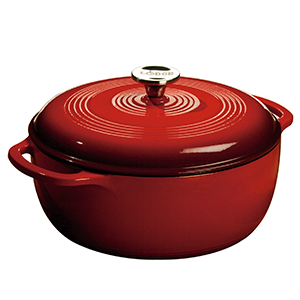 lodge, lodge dutch oven, lodge cast iron, lodge enameled cast iron
