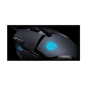 Logitech G402 Hyperion Fury Ratón Gaming con Cable, Seguimento Óptico 4,000 DPI, Peso Reducido, 8 Botones Programables, PC/Mac , Negro