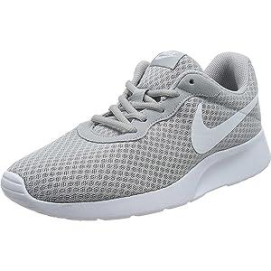 Nike Tanjun, Men's Shoes, Grey (Wolf Grey/White), 6 UK (40 EU)