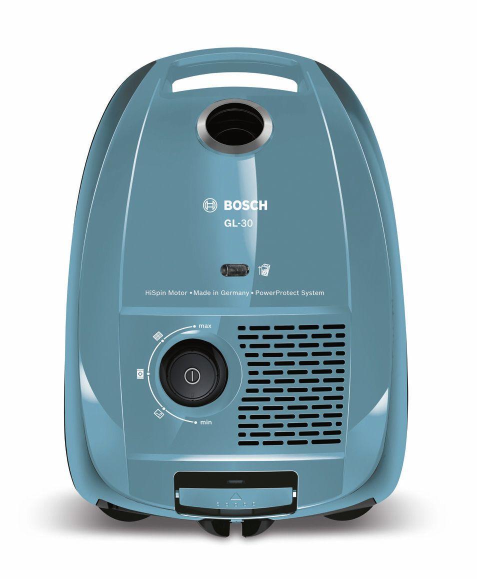 Bosch BGL3A122 Aspirapolvere a Carrello con Sacco, Blu