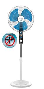 Rowenta Mosquito Silence VU6410 Ventilador de Pie con 4 ...